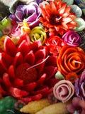 Candela aromatica Fotografia Stock
