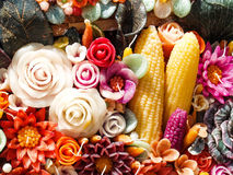 Candela aromatica Fotografia Stock Libera da Diritti