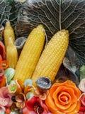 Candela aromatica Immagini Stock