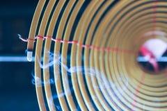 Candela cinese a spirale immagini stock