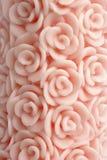 Candela della Rosa Immagine Stock