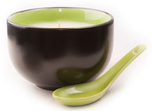 Candela della tazza Fotografie Stock