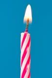 Candela di buon compleanno Immagini Stock
