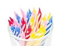 Candela di compleanno Fotografia Stock
