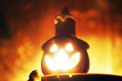 Candela di Halloween fotografia stock libera da diritti