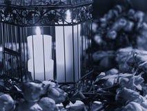 Candela nello scuro Immagine Stock Libera da Diritti