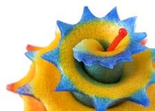 Candela profumata Handmade Immagini Stock Libere da Diritti