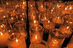 Candela santa della st Peter & della chiesa del Paul in San Fran Fotografie Stock