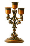 Candelabra. Side view of a candelabra Stock Photo