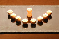 candelabrium hanukkah Στοκ εικόνα με δικαίωμα ελεύθερης χρήσης