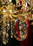 Candelabro de cristal Fotografia de Stock