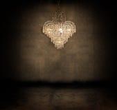 Candelabro de cristal Fotos de Stock Royalty Free