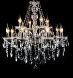 Candelabro de vidro contemporâneo Fotografia de Stock Royalty Free