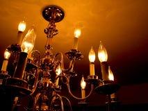 Candelabro escuro Fotos de Stock Royalty Free