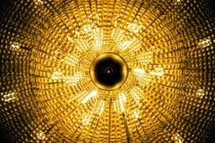 Candelabro grande do salão de beleza Fotos de Stock Royalty Free