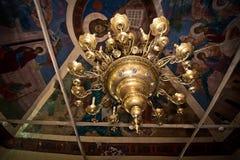 Candelabro na igreja 754 Foto de Stock