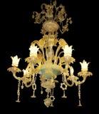 Candelabro ornamentado com centro do jade imagens de stock royalty free