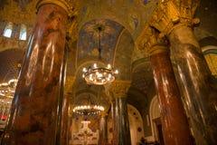 Candelabros da catedral Foto de Stock