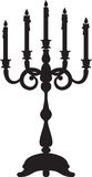Candelabrum Stock Photography