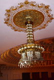 Candelabrum inside the Palast of Culture in Targu-Mures, Romania Royalty Free Stock Photos
