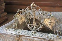 Candelabrum inside Svetitskhoveli Cathedral Stock Image