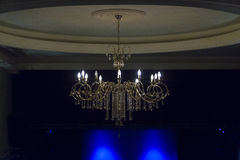 Candelabrum. A candelabrum suspended on a wall Royalty Free Stock Photos