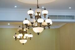 Candelabrum. Two candelabrum's suspended on a wall Royalty Free Stock Photography