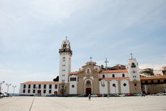 Candelaria, Tenerife教会  库存照片