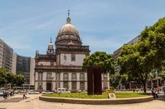 Candelaria Church en Rio de Janeiro Photos libres de droits