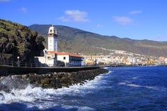 Candelaria kościół w Tenerife Fotografia Stock