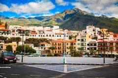 Candelaria major square, Tenerife Stock Images