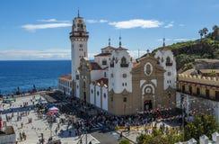 Candelaria, Tenerife, Espanha Fotos de Stock