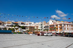 Candelaria town. Tenerife, Canary Islands Stock Photos