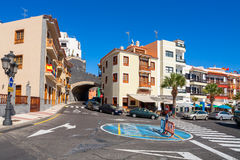 Candelaria town. Tenerife, Canary Islands, Spain Stock Photos