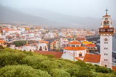 Candelaria town on Tenerife island Royalty Free Stock Image