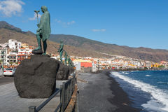 Candelaria town. Tenerife, Spain Royalty Free Stock Image