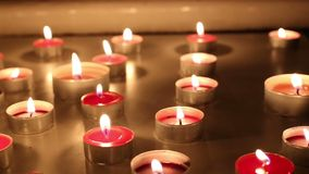 Candele stock footage