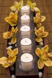 Candele aromatiche Fotografie Stock Libere da Diritti