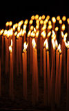 Candele Burning Immagini Stock