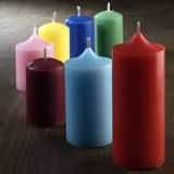 Candele colorate Fotografie Stock Libere da Diritti