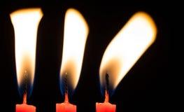 Candele di estratto II della fiamma Fotografia Stock Libera da Diritti