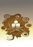 Candele di natale Royalty Illustrazione gratis