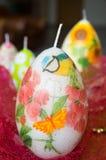 Candele di Pasqua Fotografia Stock Libera da Diritti