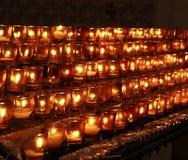 Candele di preghiera Immagini Stock Libere da Diritti