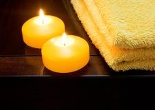 candele di torretta Immagini Stock Libere da Diritti