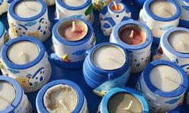 Candele di waxine del ricordo. Immagini Stock Libere da Diritti