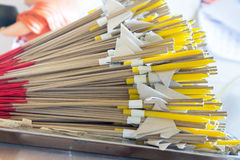 Candele, incenso Fotografie Stock Libere da Diritti