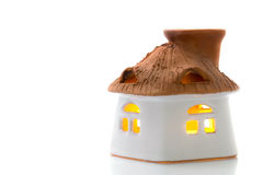Candelero del Aromatherapy Foto de archivo libre de regalías