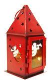 Candelero rojo Imagen de archivo libre de regalías