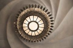 Candeliere in casa Batllo, Barcellona fotografia stock